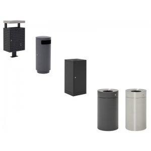 Abfallbehälter - Außenbereich