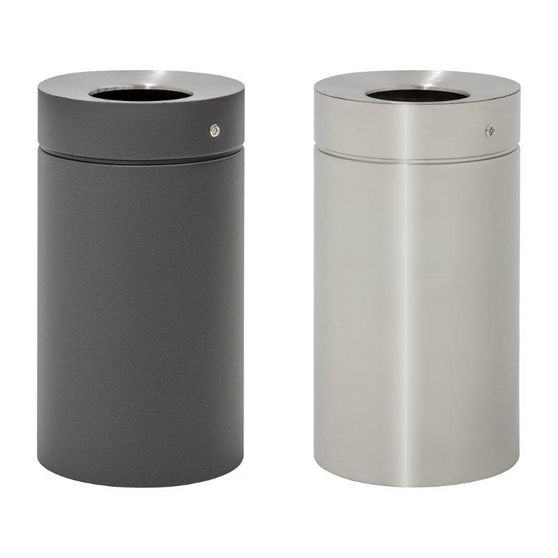 Design-Linie Abfallbehälter - A1070 - 75 l, rund, Aufstellen/Auf