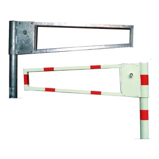 """Wegesperren - """"WGP.."""" - drehbar, Dreikant- oder Zylinderschloß, Sperrbreite von 1.000 bis 3.000 mm"""