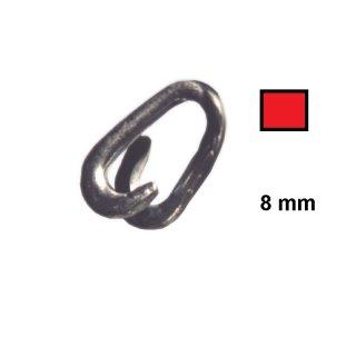 Notglied - NG8R - verzinkt und rot beschichtete, 8 mm