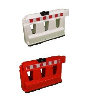 Fahrbahnteiler - FBT-. - aus Kunststoff (PPC / PVC), L 1000 x B 400 x H 600, in den Farben weiß oder rot