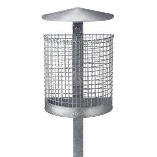 Abfallbehälter BETA - mit Wetterschutzhaube