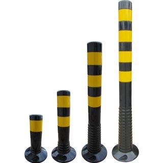 Flexipfosten - FSG . - Schwarz Gelb retroreflektierend