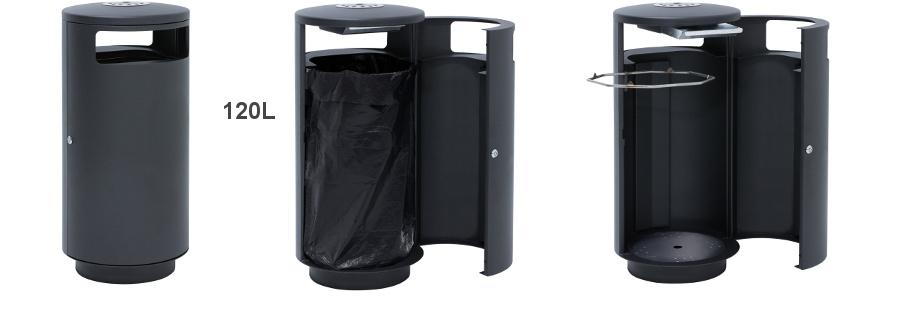 A1011 - 120 Liter Abfallbehälter